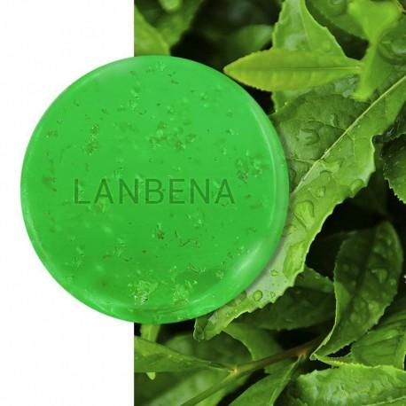 صابون دست ساز طلای لانبنا (چای سبز)