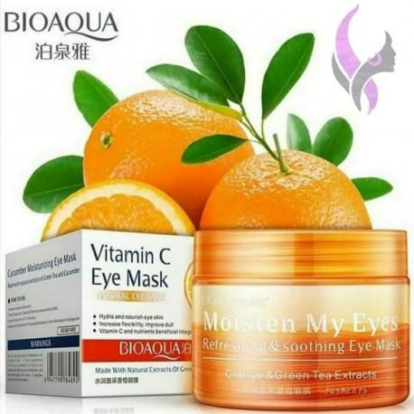 پچ دور چشم پرتقال ویتامین سی بیواکوا BIOAQUA Orange Eye Mask