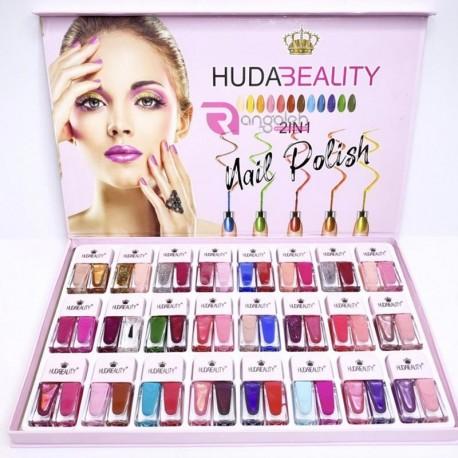 پک لاک دو قلو 24 عددی هدی بیوتی Huda Beauty