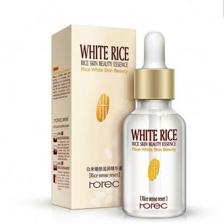 سرم روشن کننده و نرم کننده ی برنج سفید رورک