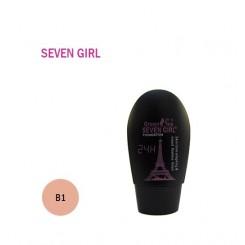 کرم پودر 24 ساعته SEVEN GIRL کد B1