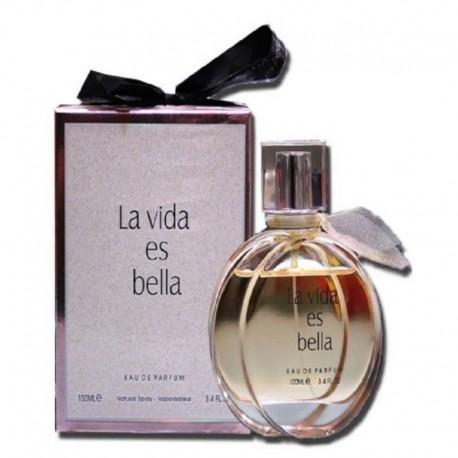 عطر فرگرنس ورد لاویدا اس بلا زنانه Fragrance World La Vida Es Bella 100ml ادوپرفیوم