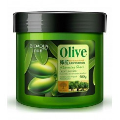 ماسک موی تقویت کننده عمیق ضد ریزش روغن زیتون بیوآکوا BIOAQUA Olive Oil Hair Mask